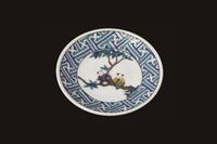 青郊窯 縁起豆皿コレクション 紗彩型唐子