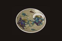 青郊窯 縁起豆皿コレクション 風神雷神図