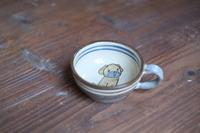 真南風工房 子供用スープカップ (犬)