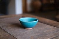 昇陽窯 飯碗(碧)