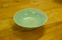 小鉢(糠青磁)