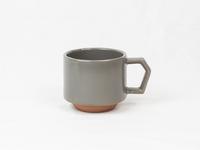 美濃焼 CHIPS stack mug. MAT gray
