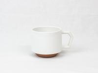 美濃焼 CHIPS stack mug. SOLID COLOR white