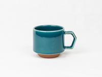 美濃焼 CHIPS stack mug. SOLID COLOR d.green