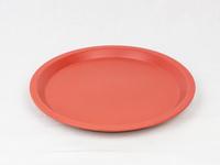 美濃焼 CHIPS plate. MAT red