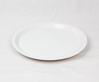 美濃焼 CHIPS plate. SOLID COLOR white