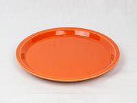 美濃焼 CHIPS plate. SOLID COLOR orange
