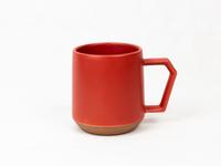美濃焼 CHIPS mug. MAT red