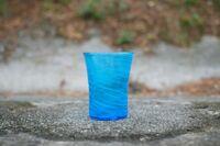 匠工房 海の泡 4インチグラス 水色