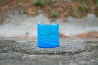 匠工房 海の泡 ロックグラス 水色