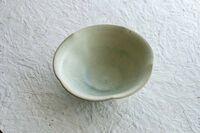 藤陶 緑彩 輪花鉢 5寸