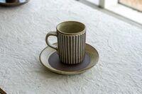 藤陶 線彫 コーヒーC/S A