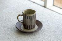 藤陶 線彫コーヒー B