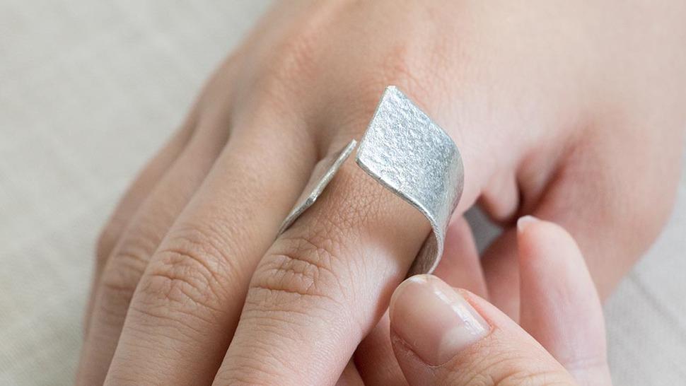 TIN BREATH Ring 15×80mm(シルバー)使用シーン