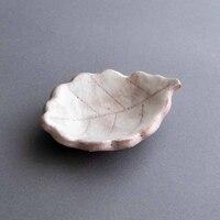 林 健人 白志野 木の葉 漬物皿