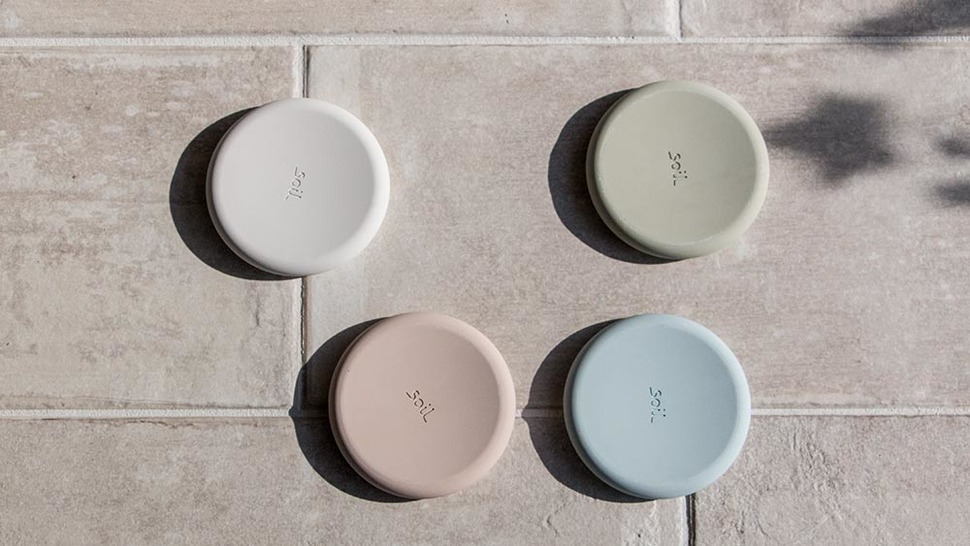 soil SOAP DISH circle 裏