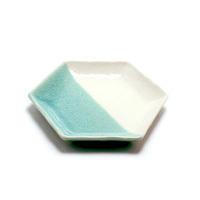 取皿(五分掛け)青磁