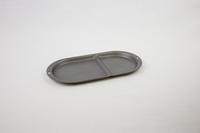 Dark gray oval tray