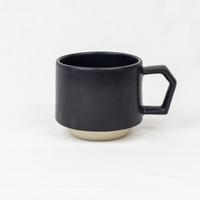 CHIPS stack mug. MAT black