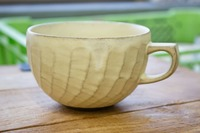 石丸陶芸 アイボリースープカップ