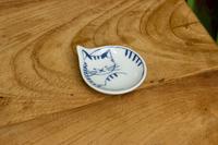 石丸陶芸 豆neco皿(トラ)