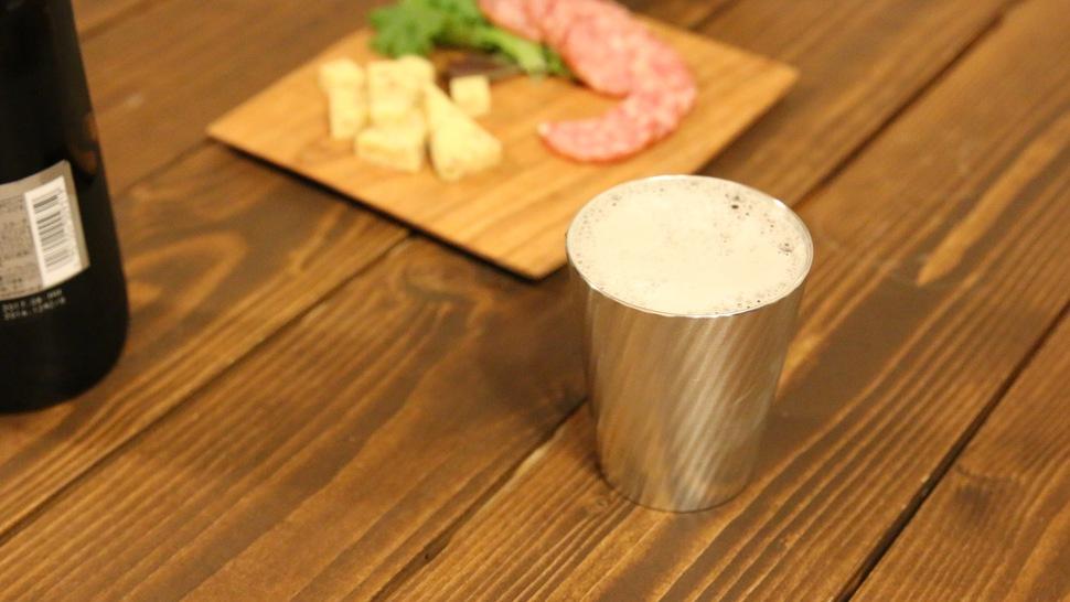 ビールを飲むなら、大阪錫器のタンブラー