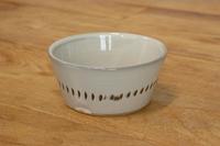 蔵人窯 角鉢 1本飛鉋