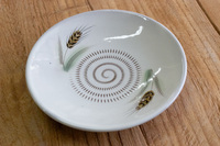 蔵人窯 14cm麦皿 色