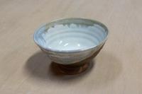 四季陶房 飯碗 ブルー
