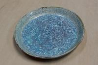 四季陶房 パスタ皿(中) 結晶