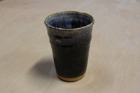 四季陶房 フリーカップ ブラック内結晶