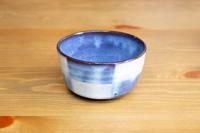 松光山 市松小鉢ブルー