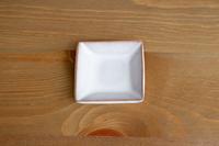松光山 角豆皿ホワイト