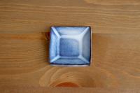 松光山 角豆皿ブルー