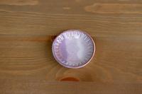 松光山 しのぎ豆皿紫