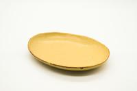 クラフト石川 16cm楕円小皿 イラボ