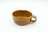 クラフト石川 スープカップ 飴釉