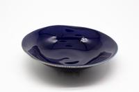 マルシゲ陶器 瑠璃釉 多様鉢