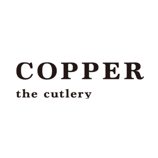 Copper the cutlery