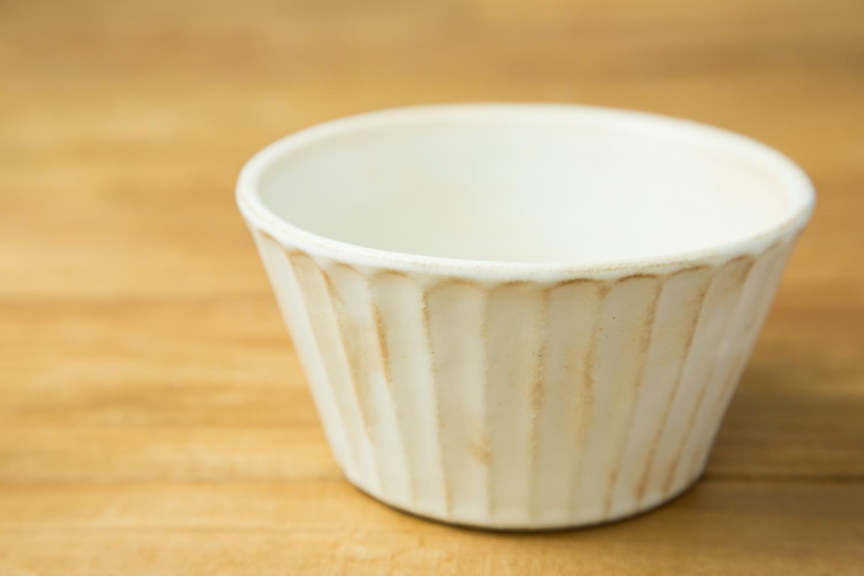 こだわりの器で食事を楽しく益子焼のkinariしのぎシリアルボウル