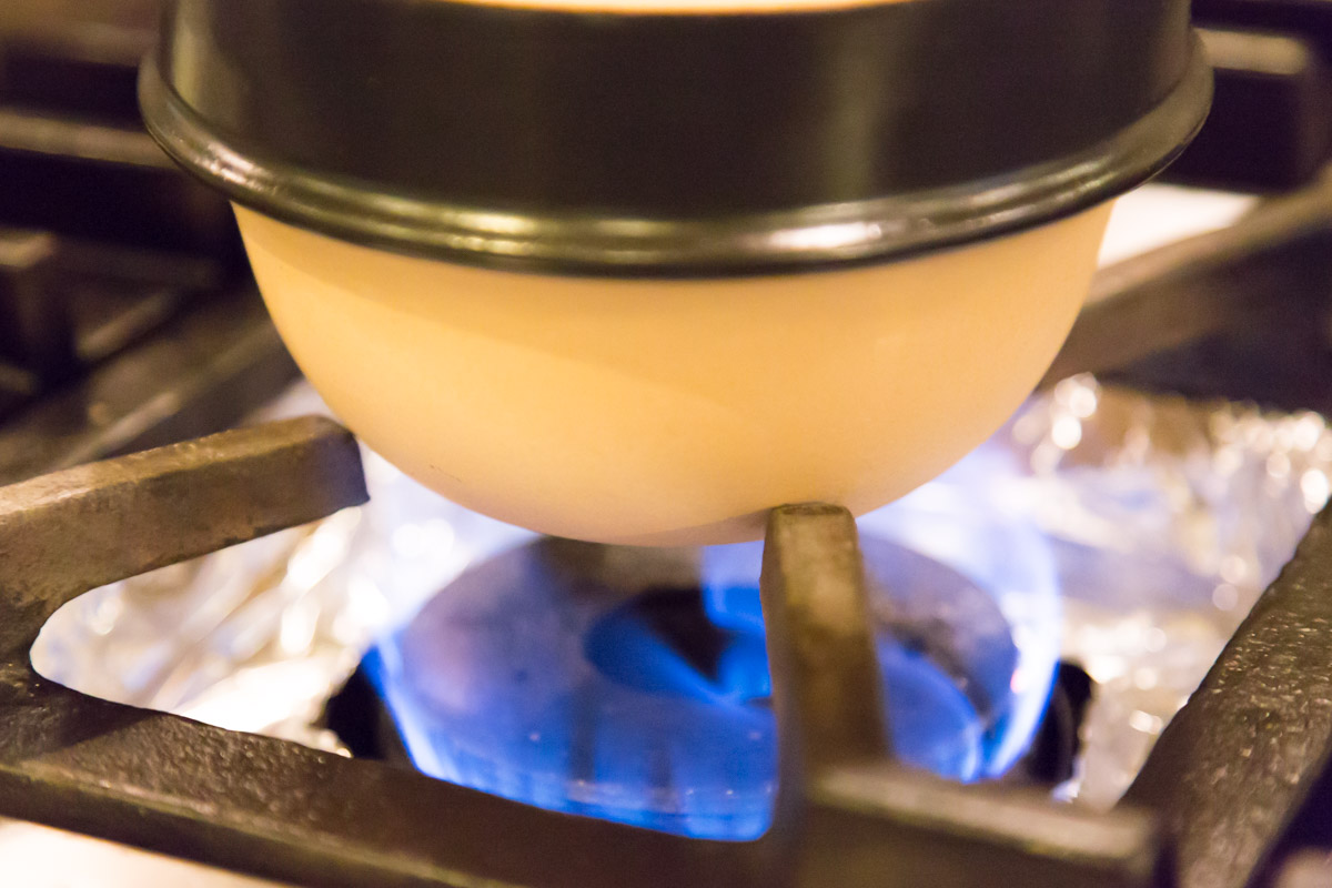 改良に改良を重ねた土鍋
