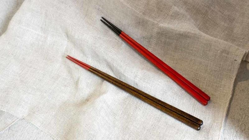 漆屋はやしさくら 夫婦箸