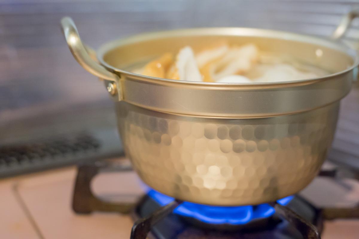 おばあちゃんも愛用していたアルミ鍋