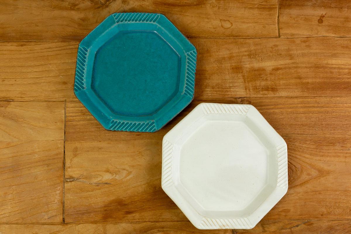 自宅でカフェ気分を楽しもう 食卓をおしゃれに彩る八角プレート