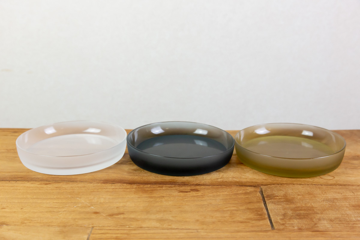 料理にあわせて使い分ける3色