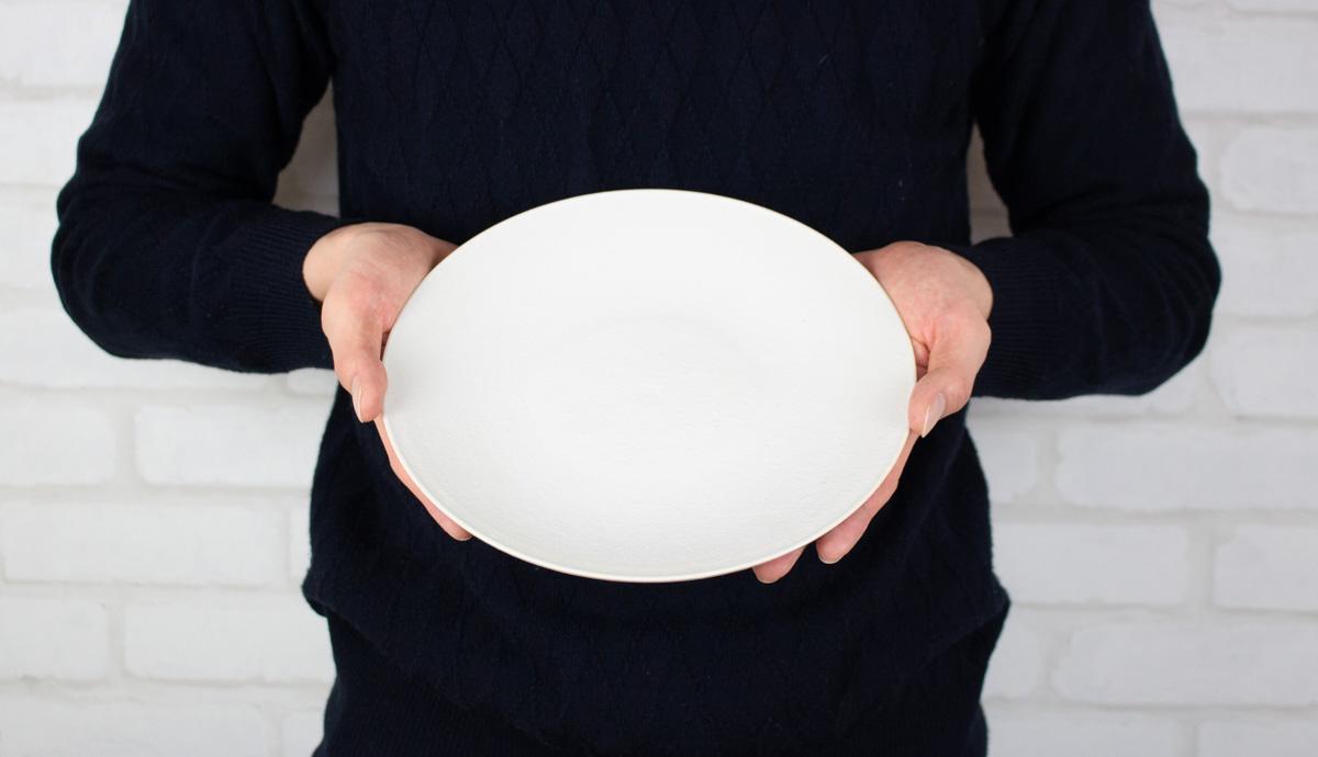 取り皿としてもちょうどいい大きさ