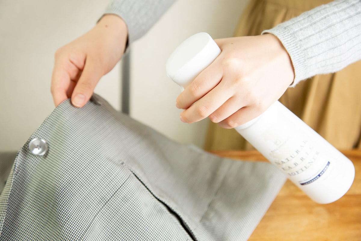 楠 クスノキの香りで包むスプレータイプの柔軟剤|KUSU HANDMADE「カンフル&ラベンダー アロマ柔軟仕上げ剤ミスト 350ml」