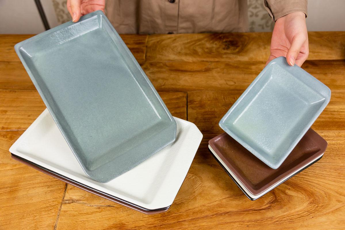 遊び心ある食卓を作る封筒モチーフのプレート