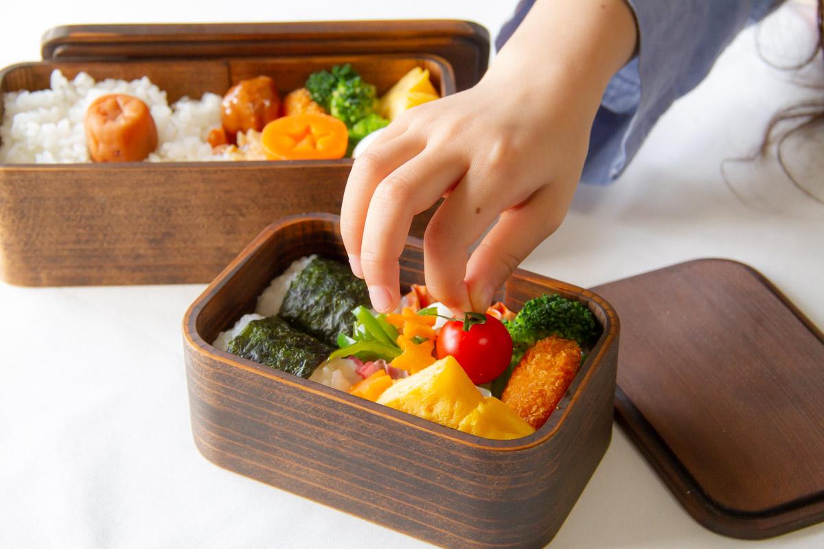 うるしの弁当箱 子どもサイズ