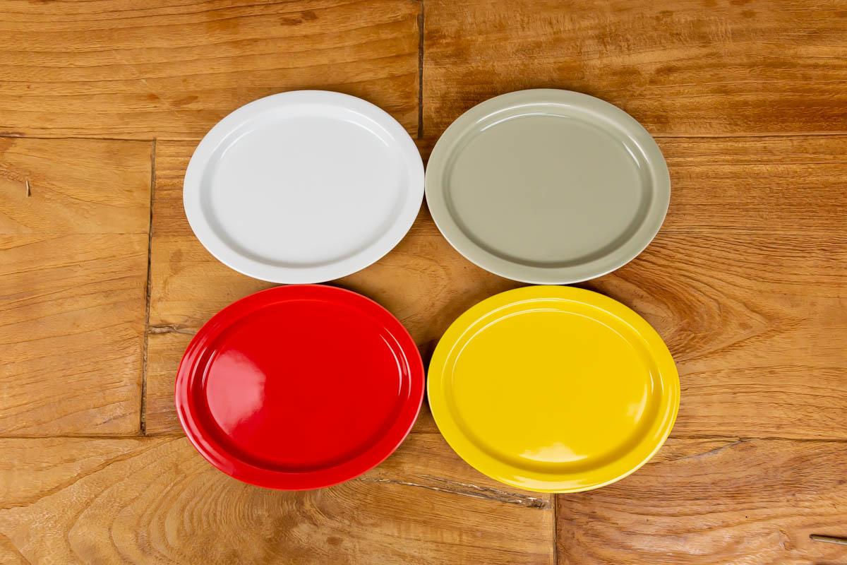 人間工学を元に設計したお皿 縁 フチ が指にフィットして使いやすいaiyu e-プレート